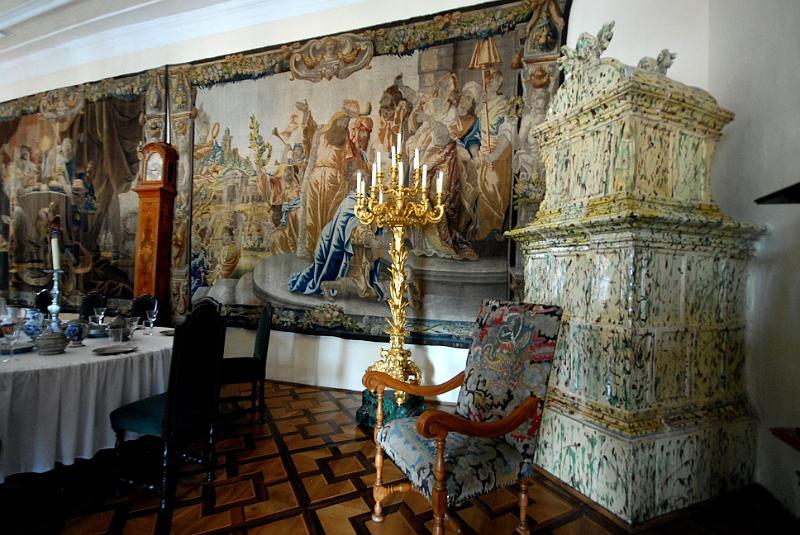 Tsjechie zuid bohemen 5 089 0077 cesky krumlov slot barokke eetzaal 08097 - Dining barokke ...