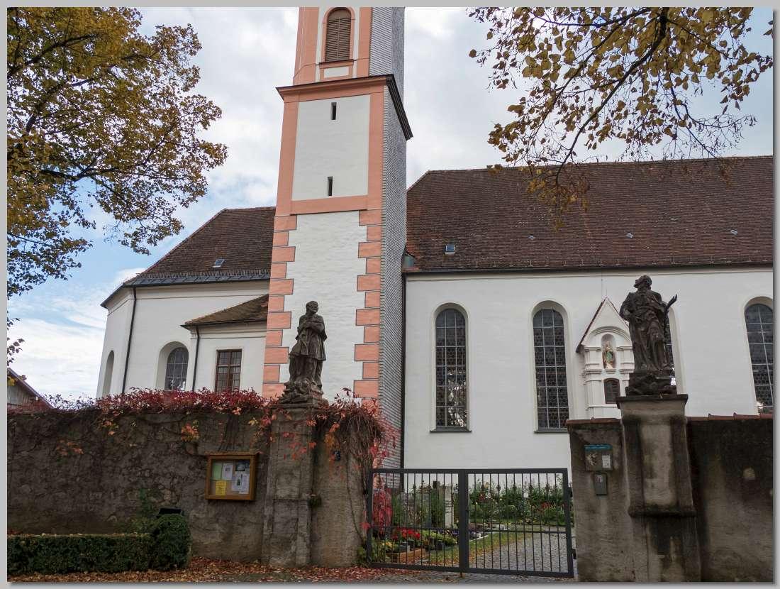 De barokke parochiekerk st ulrich van seeg in zuid duitsland
