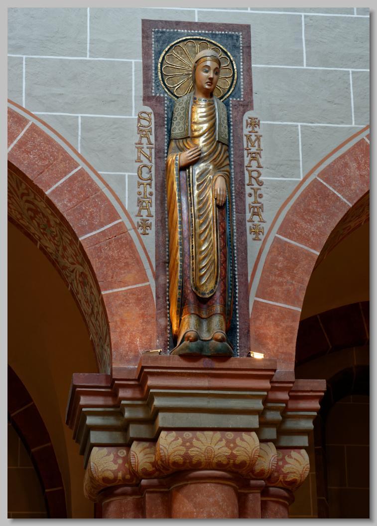 klooster en beeld