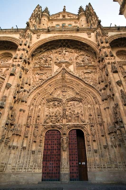Salamanca Catedral Nueva Westingang