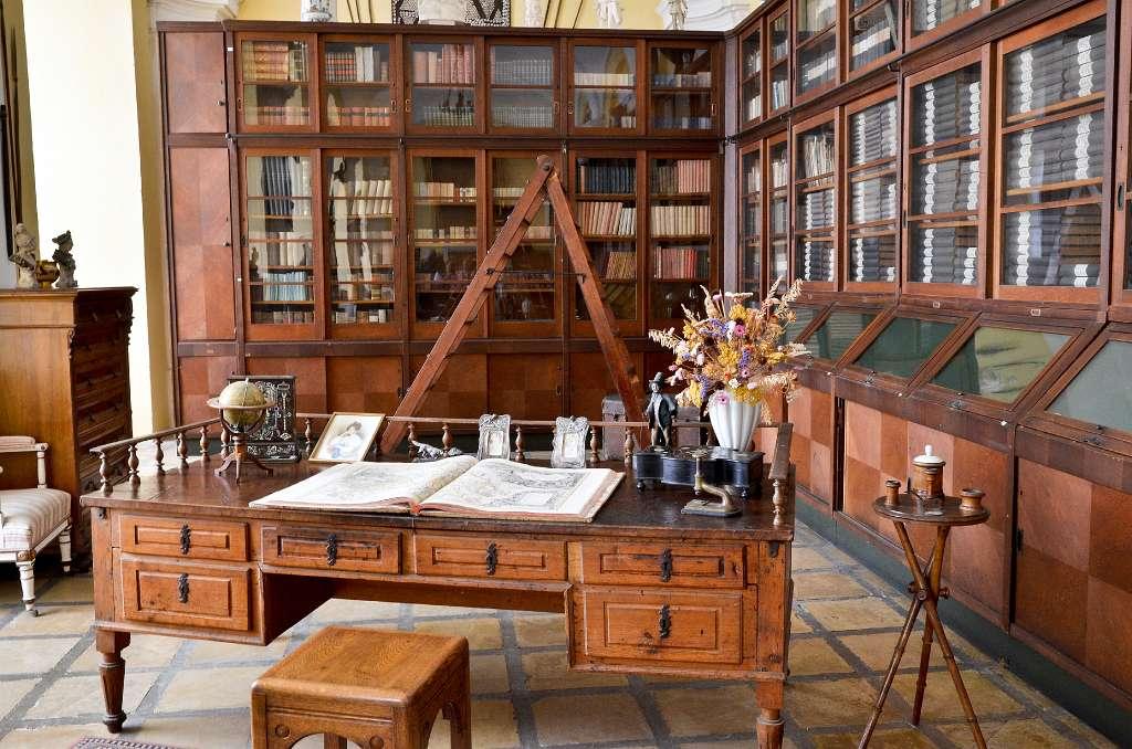 West bohemen kladruby klooster bibliotheek - Bibliotheek balances ...