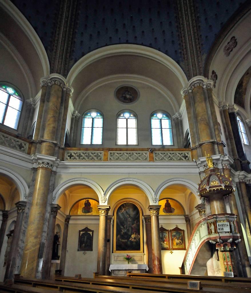 West bohemen marienbad maria hemelvaartkerk interieur for Interieur 19e eeuw