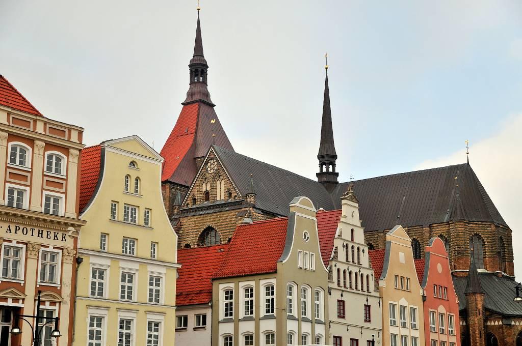 mecklenburg vorpommern rostock st marien kirche neuer markt. Black Bedroom Furniture Sets. Home Design Ideas