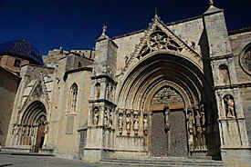 cathedral of Morella, Spain