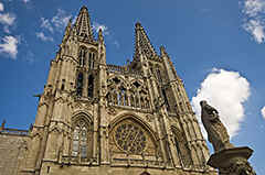 Burgos in northern Spain - who does not know (of) the famous cathedral of this nice old town?!!