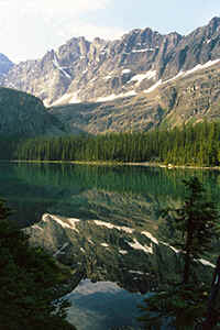 Lake O'Hara im Yoho National Park in den Canadischen Rocky Mountains